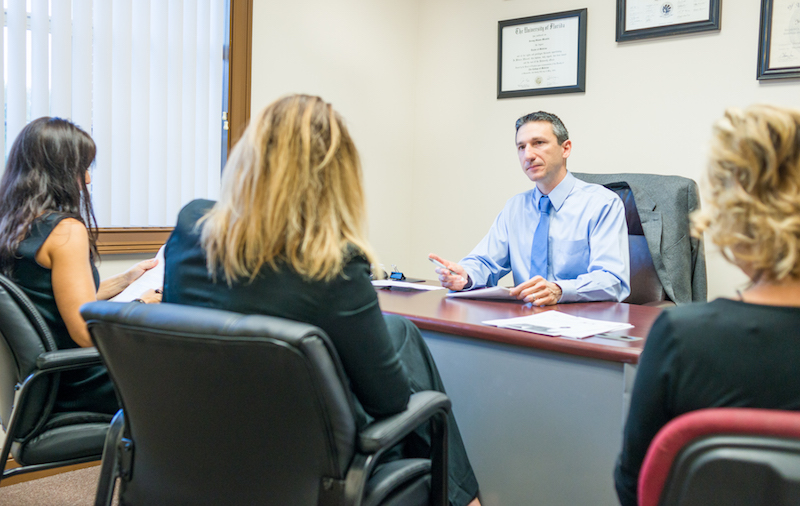 Office Meeting With Dr. Mirabile of Recovery Keys Addiction Treatment Program in St. Augustine and Jacksonville