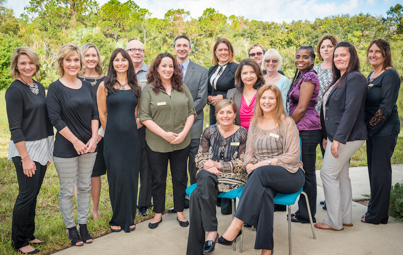 Team Outside at Recovery Keys Addiction Treatment Program in St. Augustine and Jacksonville