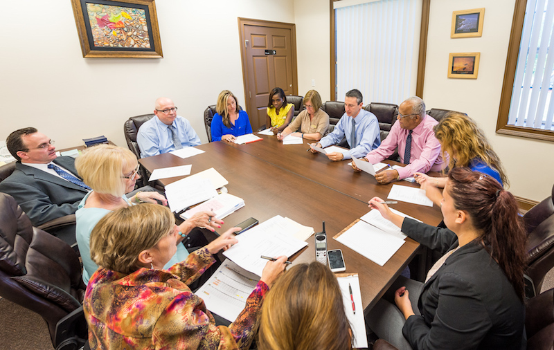 Meeting with Doctors and Therapists of Recovery Keys Addiction Treatment Program in St. Augustine and Jacksonville