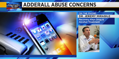 Dr. Mirabile Comments on Adderall Abuse on News4JAX
